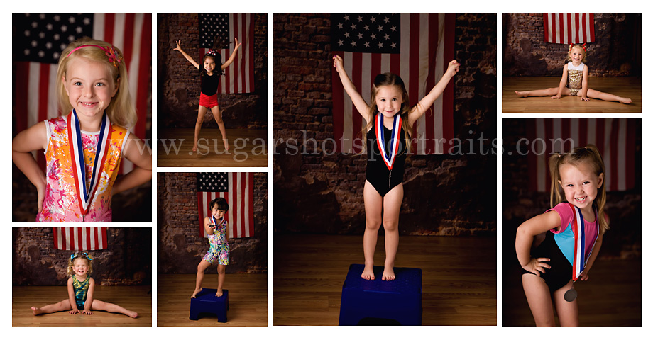 Summer Olympics Portraits
