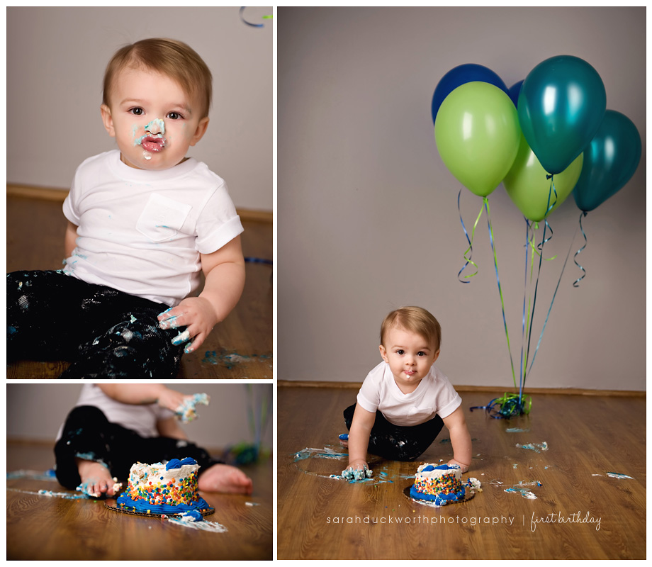 Cake Smash Photography Session