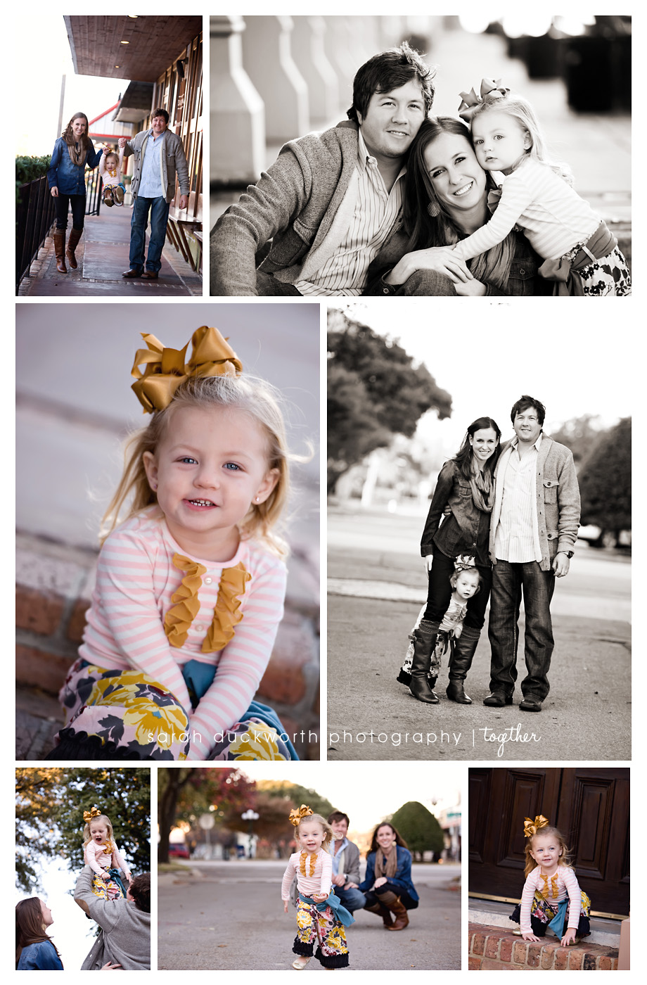 Evening Family Portraits Rockwall TX
