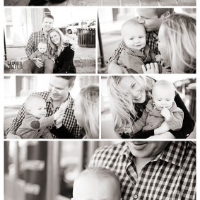Family Session Downtown Rockwall